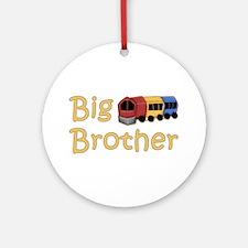 Big Brother Train Ornament (Round)