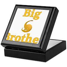 Big Brother Yellow Dinosaur Keepsake Box