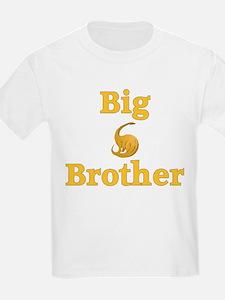 Big Brother Yellow Dinosaur T-Shirt