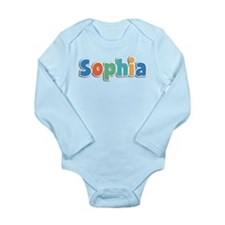 Sophia Spring11B Long Sleeve Infant Bodysuit