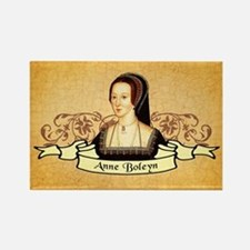 Anne Boleyn Rectangle Magnet