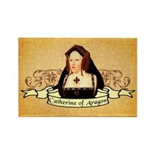 Catherine Of Aragon Rectangle Magnet