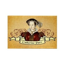 Catherine Parr Rectangle Magnet