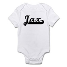 Black jersey: Jax Infant Bodysuit