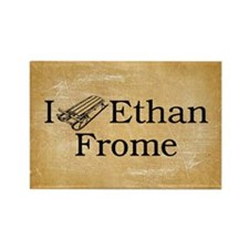 I (Sled) Ethan Frome Rectangle Magnet