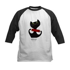 black cat thread Tee