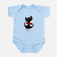black cat thread Infant Bodysuit
