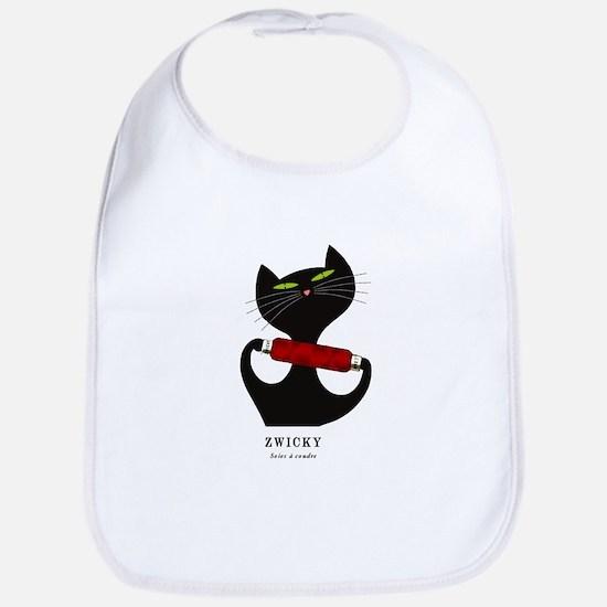 black cat thread Bib