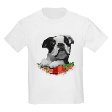 Boston terrier kids light t shirt boston terrier t shirt for Boston rescue 2 t shirt