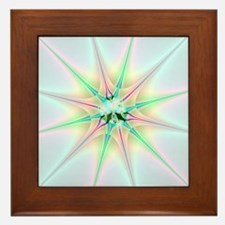 Sparkling Star Framed Tile