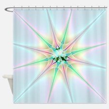 Sparkling Star Shower Curtain