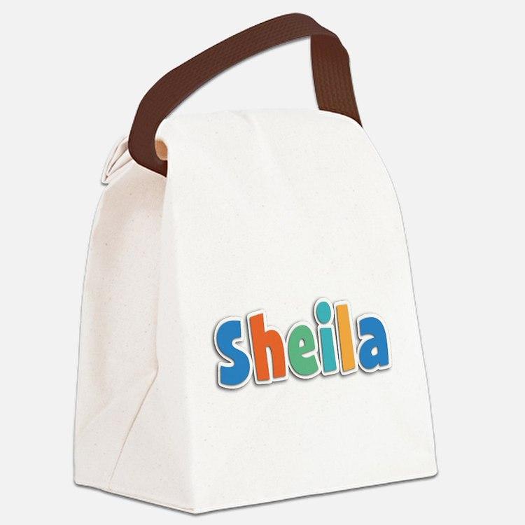Sheila Spring11B Canvas Lunch Bag
