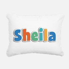 Sheila Spring11B Rectangular Canvas Pillow