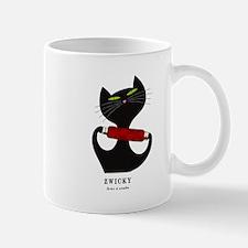 black cat thread Mug