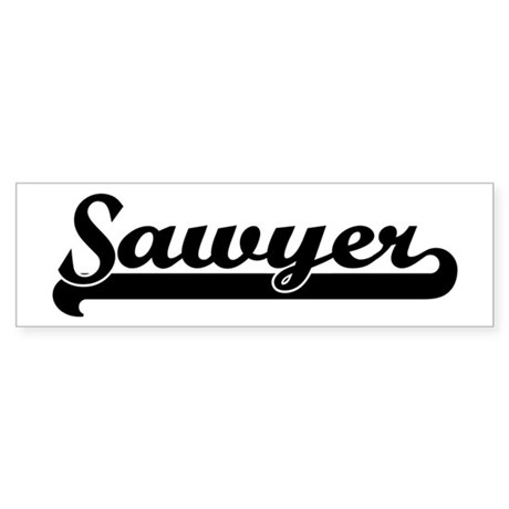 Black jersey: Sawyer Bumper Sticker