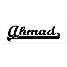 Black jersey: Ahmad Bumper Bumper Sticker