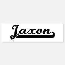 Black jersey: Jaxon Bumper Bumper Bumper Sticker