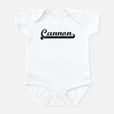 Black jersey: Cannon Infant Bodysuit