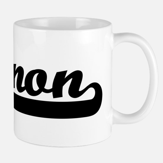 Black jersey: Cannon Mug