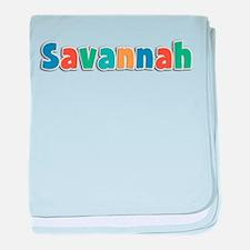 Savannah Spring11B baby blanket