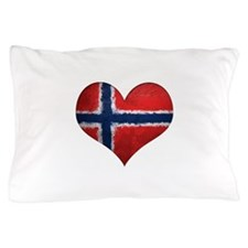 Norway Heart Pillow Case