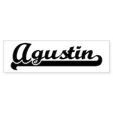 Black jersey: Agustin Bumper Bumper Sticker