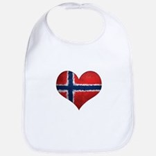 Norway Heart Bib