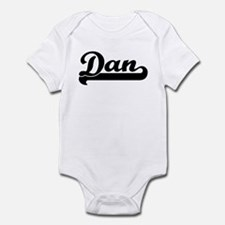 Black jersey: Dan Infant Bodysuit