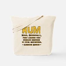 Bierce Rum Tote Bag