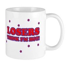 losersthinkimhot Mugs