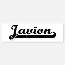 Black jersey: Javion Bumper Bumper Bumper Sticker