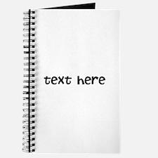 One Line Custom Message Journal
