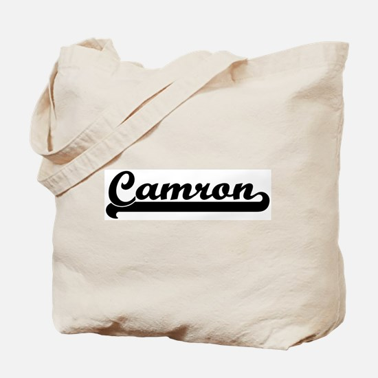 Black jersey: Camron Tote Bag