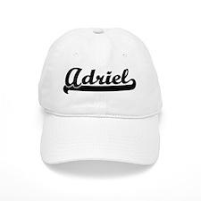 Black jersey: Adriel Baseball Baseball Cap