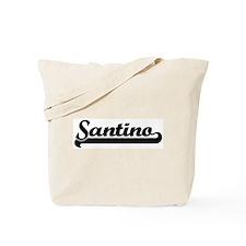 Black jersey: Santino Tote Bag
