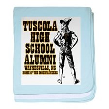 Tuscola High School Alumni baby blanket