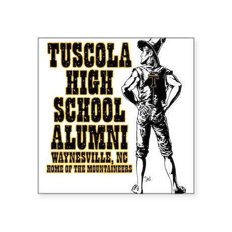 """Tuscola High School Alumni Square Sticker 3"""" x 3"""""""