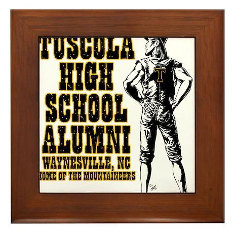 Tuscola High School Alumni Framed Tile