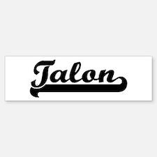 Black jersey: Talon Bumper Bumper Bumper Sticker
