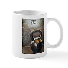 Kettlebell and Box Small Mugs