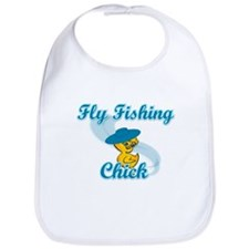Fly Fishing Chick #3 Bib