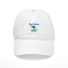 Fly Fishing Chick #3 Baseball Cap