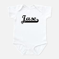 Black jersey: Jase Infant Bodysuit