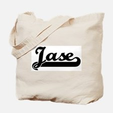 Black jersey: Jase Tote Bag