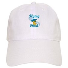 Flying Chick #3 Baseball Cap