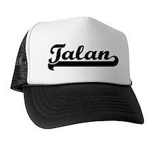 Black jersey: Talan Trucker Hat