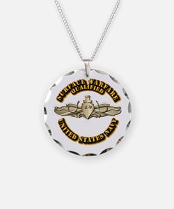 Navy - Surface Warfare - Gold Necklace