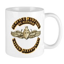 Navy - Surface Warfare - Gold Mug
