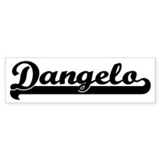 Black jersey: Dangelo Bumper Bumper Sticker