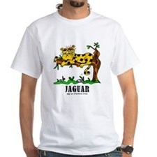 Cartoon Jaguar by Lorenzo T-Shirt